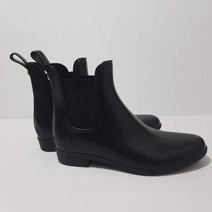 Sam Edelman Ankle Black Rain Boots Size 9